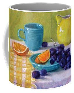 Oranges And Grapes Coffee Mug