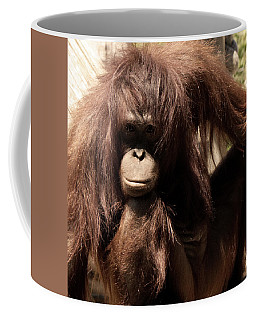 Orangutan Pose Coffee Mug