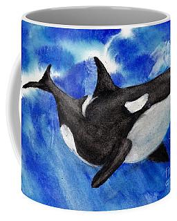 Orca Baby Coffee Mug