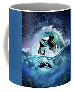 Orca Wave Coffee Mug