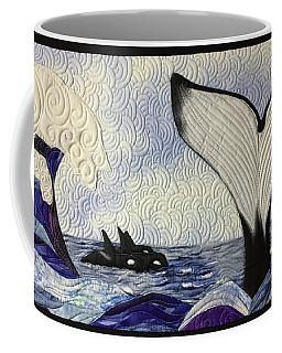 Orcas At Play Coffee Mug