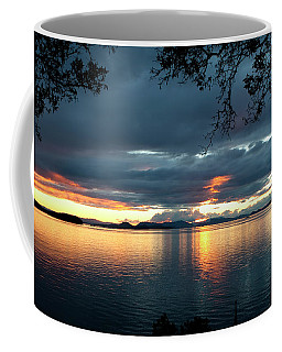 Orcas Island Sunset Coffee Mug