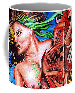 Orchestration Of Metaphysical Motion Coffee Mug