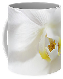 Orchid Flower Close Up Coffee Mug