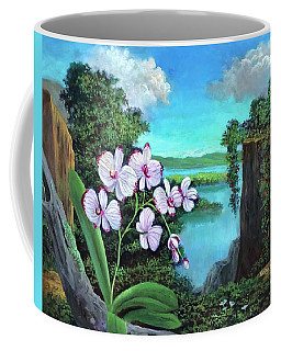 Orchid In Paradise Coffee Mug