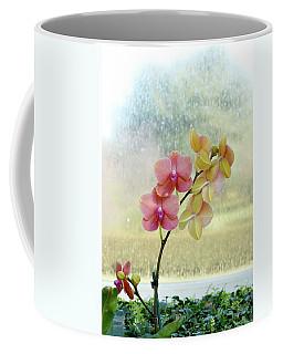 Orchid In Portrait Coffee Mug