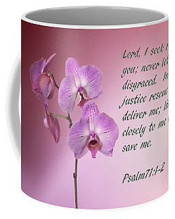 Orchid In The Pink Psalms 71 Coffee Mug