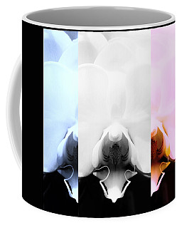 Orchid Odyssey Coffee Mug by Mary Ellen Frazee