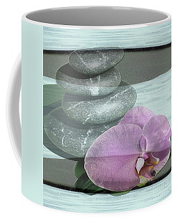 Coffee Mug featuring the photograph Orchid Tranquility by Rockin Docks Deluxephotos
