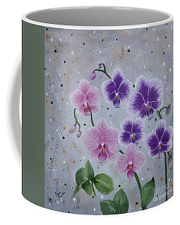 Orchids Galore Coffee Mug