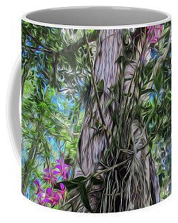 Orchids In A Tree Coffee Mug