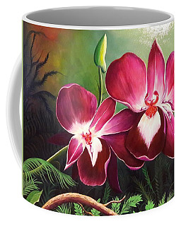 Orchids In The Night Coffee Mug