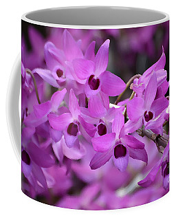 Orchids Paint Coffee Mug