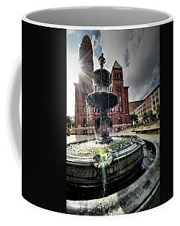 Coffee Mug featuring the photograph Order Inna Court by Robert McCubbin