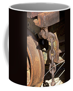 Ore Car Chain Coffee Mug