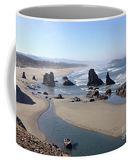 Oregon Coast Sea Stacks Coffee Mug