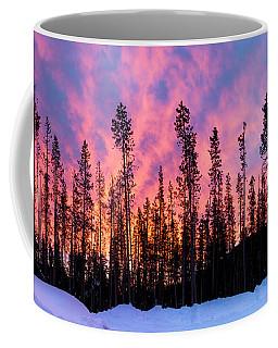 Oregon Sunrise In Winter Coffee Mug