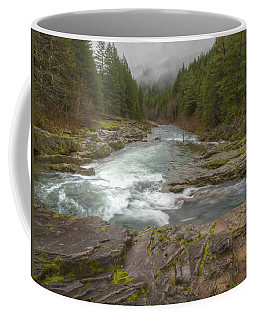 Oregon Umpqua River By Jean Noren Coffee Mug
