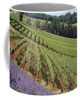 Oregon Vineyard Coffee Mug