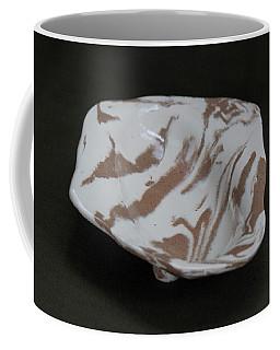 Organic Oval Marbled Ceramic Dish Coffee Mug