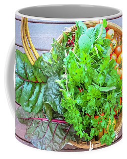 Organic Vegetable  Coffee Mug