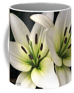Oriental Lily Named Endless Love Coffee Mug