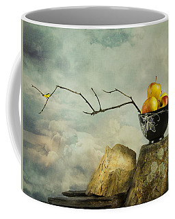 Coffee Mug featuring the photograph Oriental Still Life by Theresa Tahara