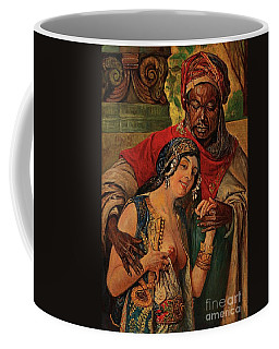 Coffee Mug featuring the painting Orientalisches Paar  by Pg Reproductions