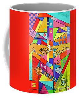 Origin Of Man Coffee Mug