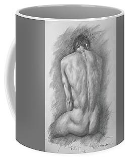 original Drawing male nude man #17325 Coffee Mug