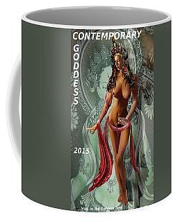 Original Female Nude Jean Goddess As Tara Dancing Poster Coffee Mug