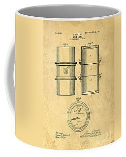Original Patent For The First Metal Oil Drum Coffee Mug