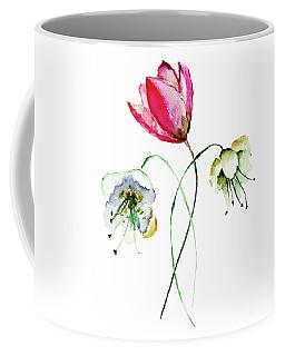 Original Summer Flowers Coffee Mug