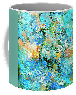 Coffee Mug featuring the painting Orinoco by Dominic Piperata
