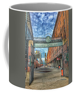 Oriole Park At Camden Yards - Eutaw Street Gate Coffee Mug