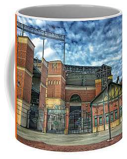 Oriole Park At Camden Yards Gate Coffee Mug