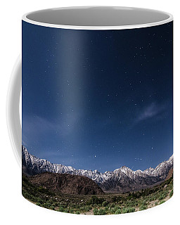 Orion Over Mt. Whitney Coffee Mug