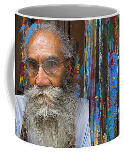 Coffee Mug featuring the photograph Orizaba Painter by Skip Hunt