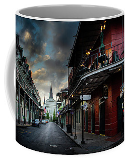 Orleans Street To St Louis Cathedral Coffee Mug