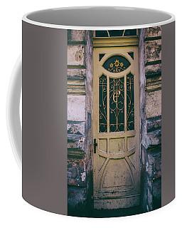 Ornamented Doors In Light Brown Color Coffee Mug by Jaroslaw Blaminsky