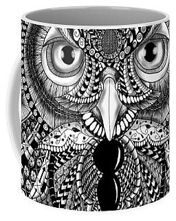 Ornate Owl Coffee Mug