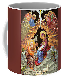 Orthodox Nativity Scene Coffee Mug