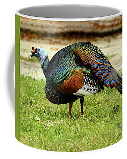 Oscillated Turkey Coffee Mug