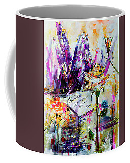 Yellow Rose For Friendship Travel Log 07 Coffee Mug