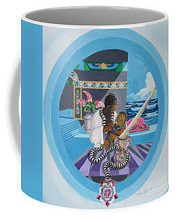 Blaa Kattproduksjoner             Osiris Feeding His Son Horus Coffee Mug