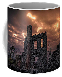 Coffee Mug featuring the photograph Osler Castle by Michaela Preston