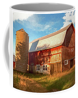 Coffee Mug featuring the photograph Oslo Corner by Trey Foerster