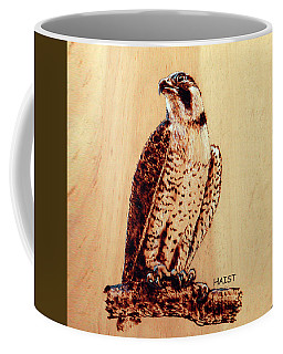 Osprey 2 Pillow/bag Coffee Mug by Ron Haist