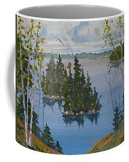 Osprey Island Study Coffee Mug