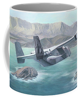 Osprey Over The Mokes Coffee Mug